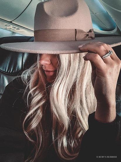 Naomi Wide Brim Felt Hat