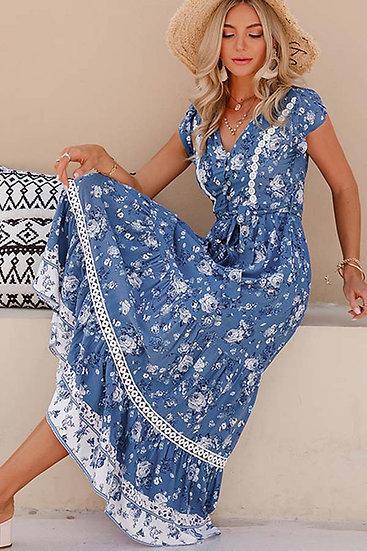 Callie Boho Floral Dress