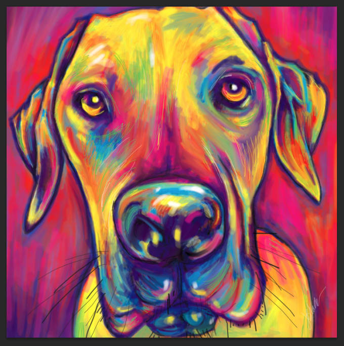 Pop Art Dog