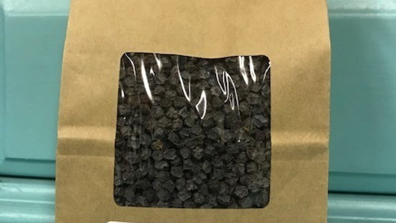8 oz Dried Wildcrafted Blue Elderberries