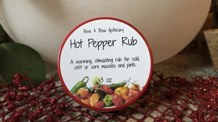 Hot Pepper Salve