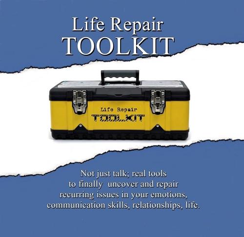 Toolkit, aufiobook, cover