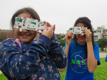 Armado de Foldscope