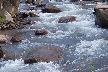 San Juan Antioquia river