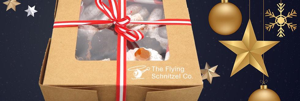 Homemade Austrian Cookies Box
