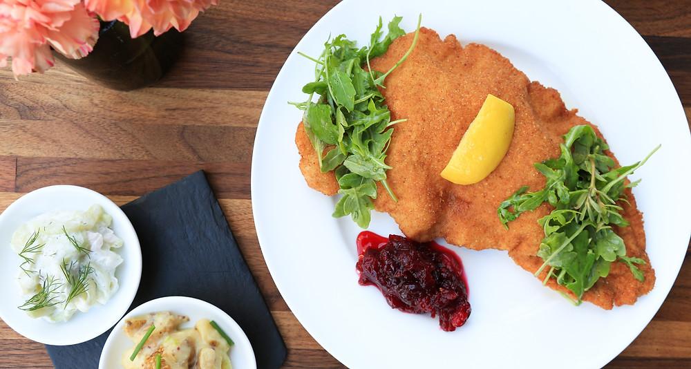 Schilling Restaurant Viennese Schnitzel