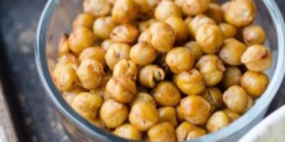 Vegane Küche mit Hülsenfrüchten