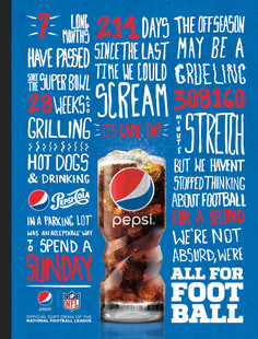 Rolling Stone print ad gets hype about the upcoming football season.