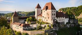 Das Schloss Burgdorf mit seinem Kräutergarten