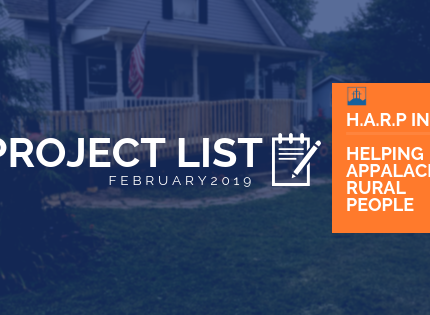 February 2019 Project List