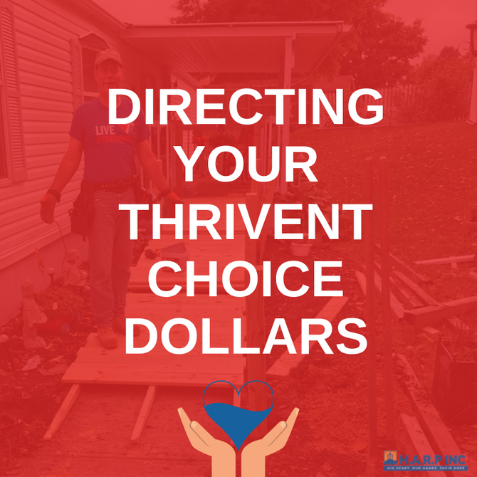 Direct Your Thrivent Choice Dollars Today