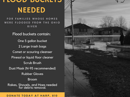 Flood Buckets Needed