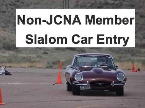 SLALOM: Non-JCNA Member Slalom Car Entry