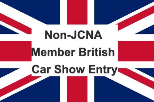 SLALOM: Non-JCNA Member British Car Show Entry