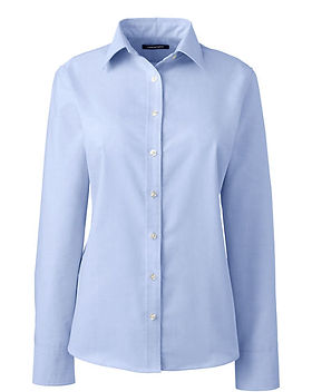 LANDS END WOMENS BUTTON UP.jfif