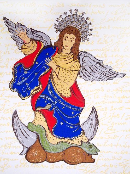 La Virgen de Quito apareció en Austin