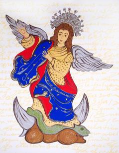 La virgen de Quito apareció en Austinjpg