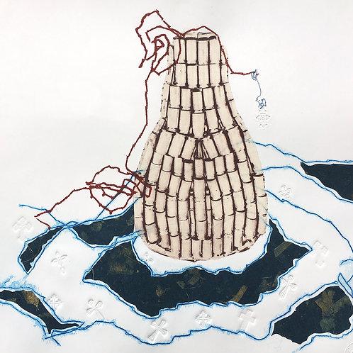 Lágrimas Llenando Océanos (A Lachrymatory Bottle)
