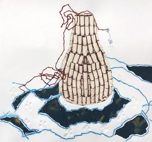 Lágrimas llenando océanos; an overflowing lachrymatory bottle