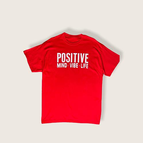 Positive Mind • Life • Vibe Tee
