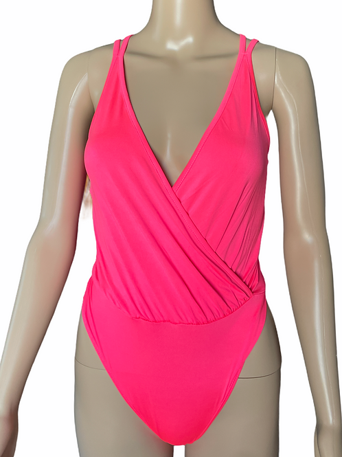 Neon Pink Bodysuit