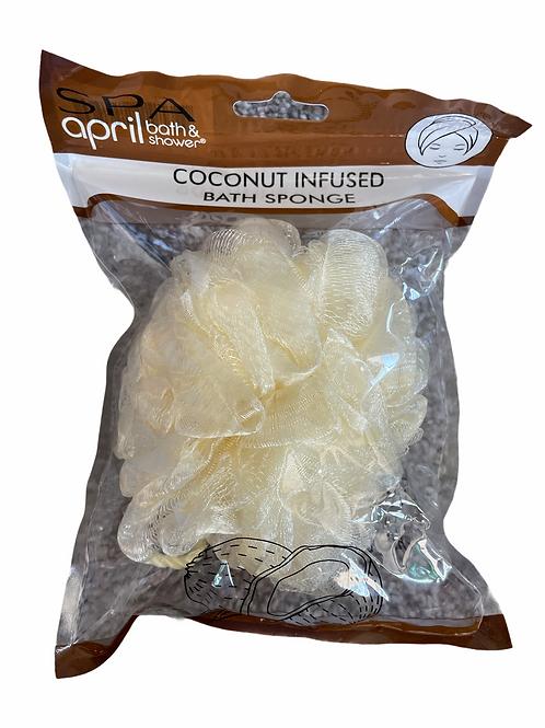 Coconut Infused Bath Sponge