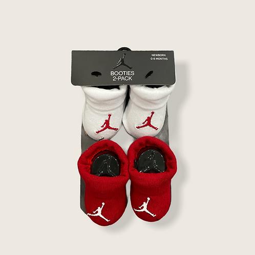 Jordan Newborn Booties 2 pk