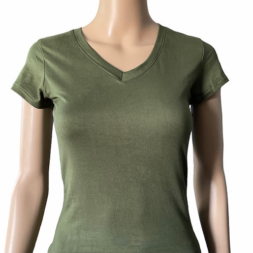 Army Green Tee