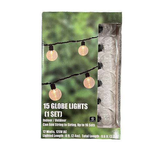 15 Globe Lights