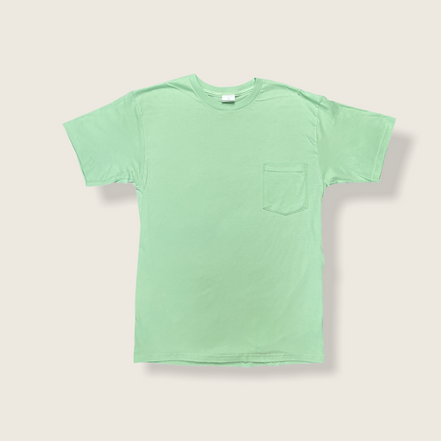 Mint Tee with Pocket
