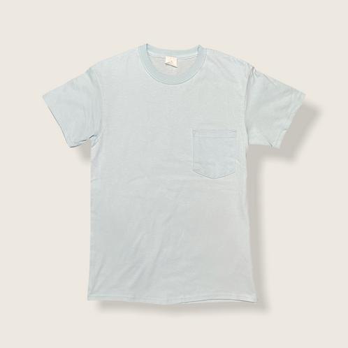 Light Blue Tee with Pocket