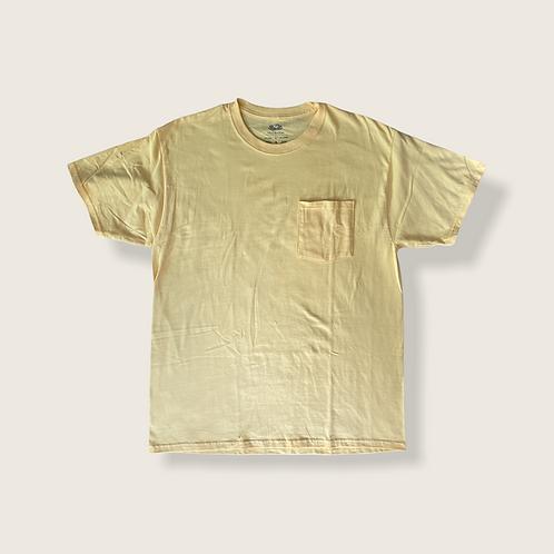 Bold Yellow Tee w. Pocket