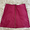 Thumbnail: Pink Leather Zip Up Skirt