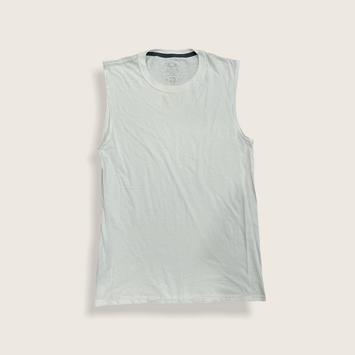 Plain White Vest