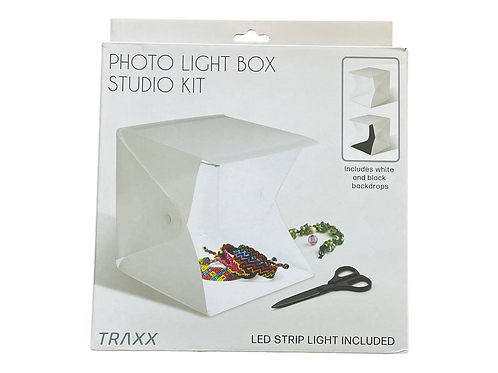 Photo Light Box Studio Kit