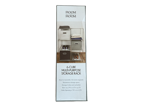 6-Cube Multi Purpose Storage Rack