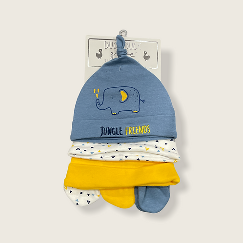 3 hats 3 mittens newborn