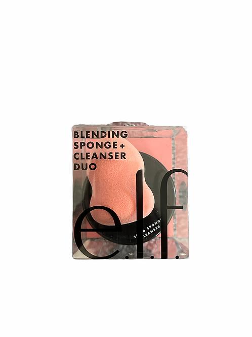 Elf Blending Sponge + Cleanser Duo