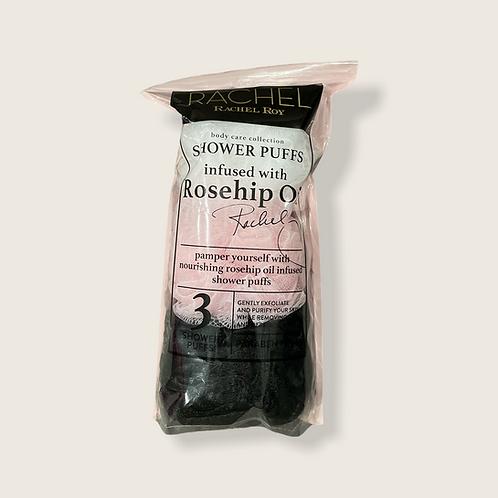 Rachel Roy Shower Puffs with Rosehip Oil