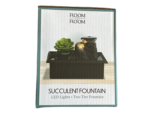 Succulent Fountain