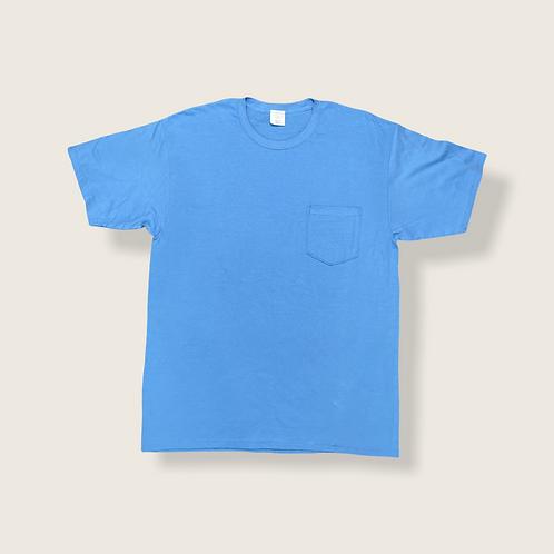 Colorado Blue Tee with Pocket