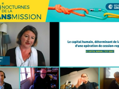 Replay Webinaire : Le capital humain, déterminant de la réussite d'une opération de cession-reprise