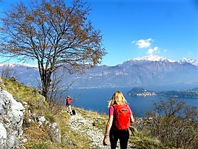Hiking Lake Como