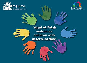 2Ajyal Al Falah welcomes children with d