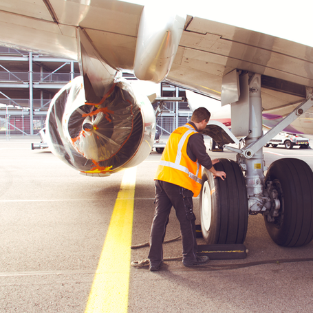 Inspecting things like wheels, brakes and fluid levels are done during transit checks.