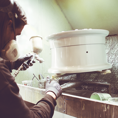 We paint with care. Real craftsmanship for the best result.