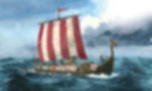Embarcação Viking - Viking Raid