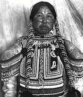 Fotografia de uma mulher Inuit / Photo of a Inuit woman