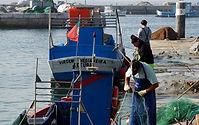 Doca de Setúbal, barco de pscadores / Fisherman's boat