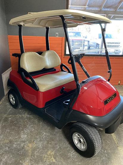 2011 Gas Club Car - Red